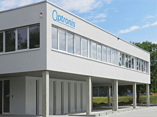 Optronis Firmengebäude
